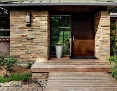 Fotos y dise os de puertas cerradura para puerta principal for Puertas de madera modernas para entrada principal