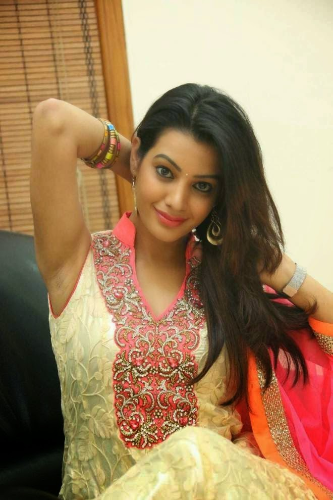 Diksha Panth Hot Backless Photos