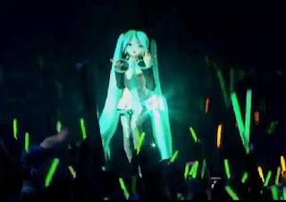Hatsune Miku Live Hologram Concert