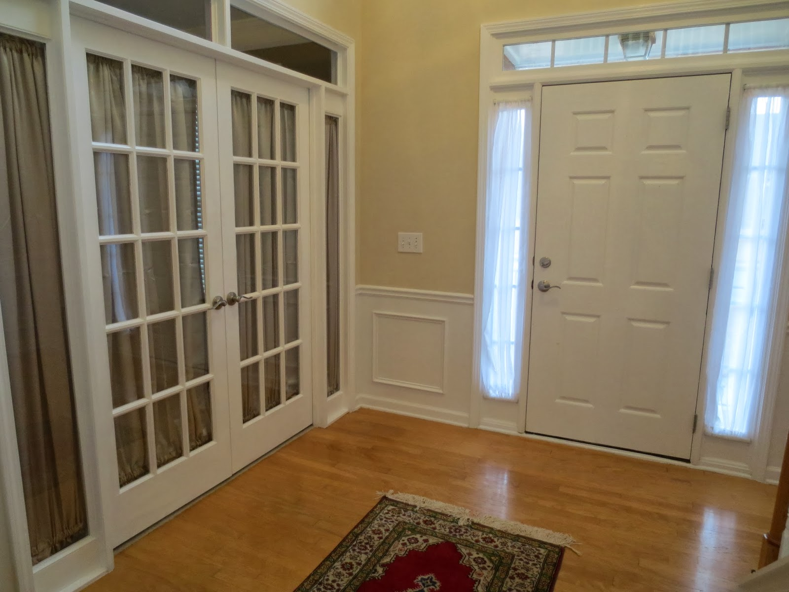 That Room Was A Formal Living Room. We Enclosed It U0026 Make A Main Floor  Guest Room. Who Uses A Formal Living Room These Days??? Part 42