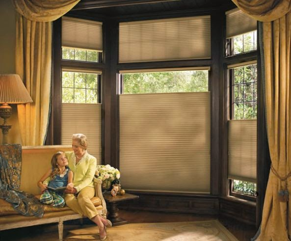 Blinds 4 less window treatments for bay windows for Window treatments for less