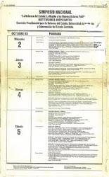 Simposio de 1985