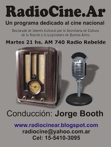 Entrevistas, música de películas y toda la información desde la voz y la perspectiva de un actor.