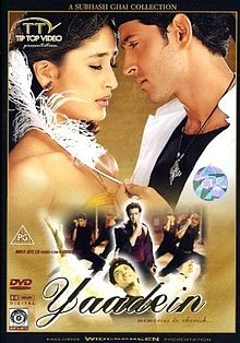 Image of Yaadein (2001) DVDRip Subtitle Indonesia
