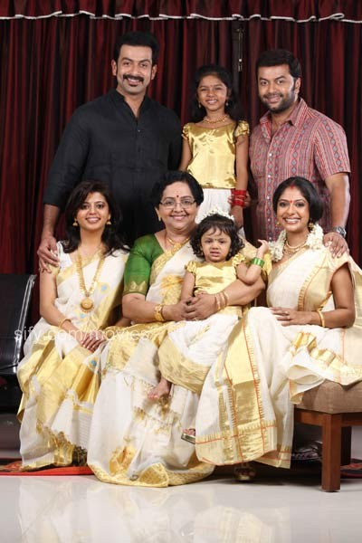 Indrajith TAGS Poornima And Family