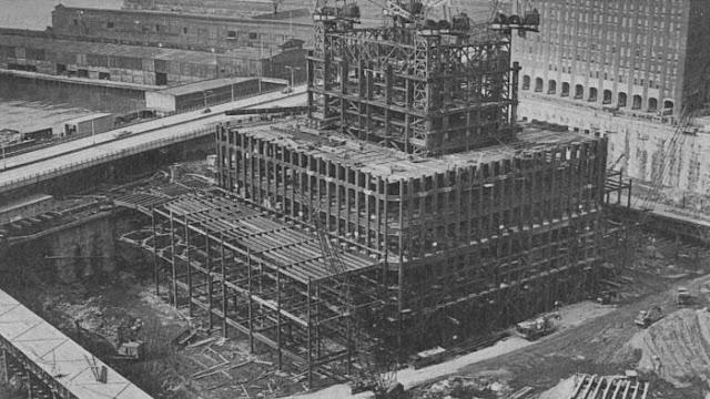 Комплекс состоял из 7 зданий,
