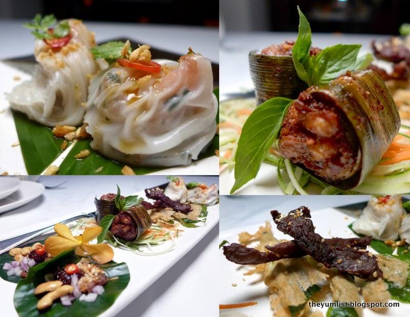 Tamarind Hill, Kuala Lumpur, fine dining, Thai-Cambodian