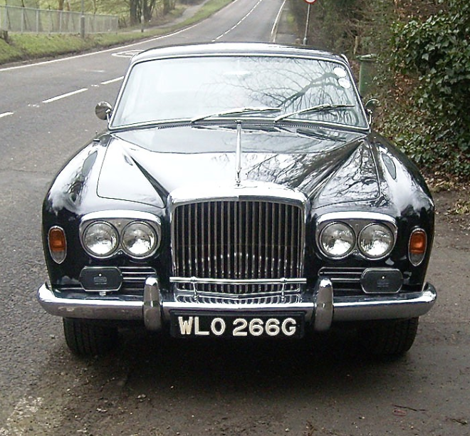 FAB WHEELS DIGEST (F.W.D.): 1968 Bentley T1 'Coupe
