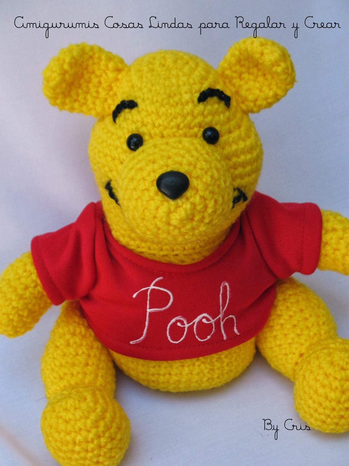 Amigurumi Winnie The Pooh : Amigurumis . Cosas Lindas: WINNIE THE POOH AMIGURUMI