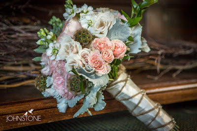 Lovely Pastel Bridal Bouquet by Petal to the Metal l Plumpjack Squaw Valley l Johnstone Studios l Take the Cake Event Planning