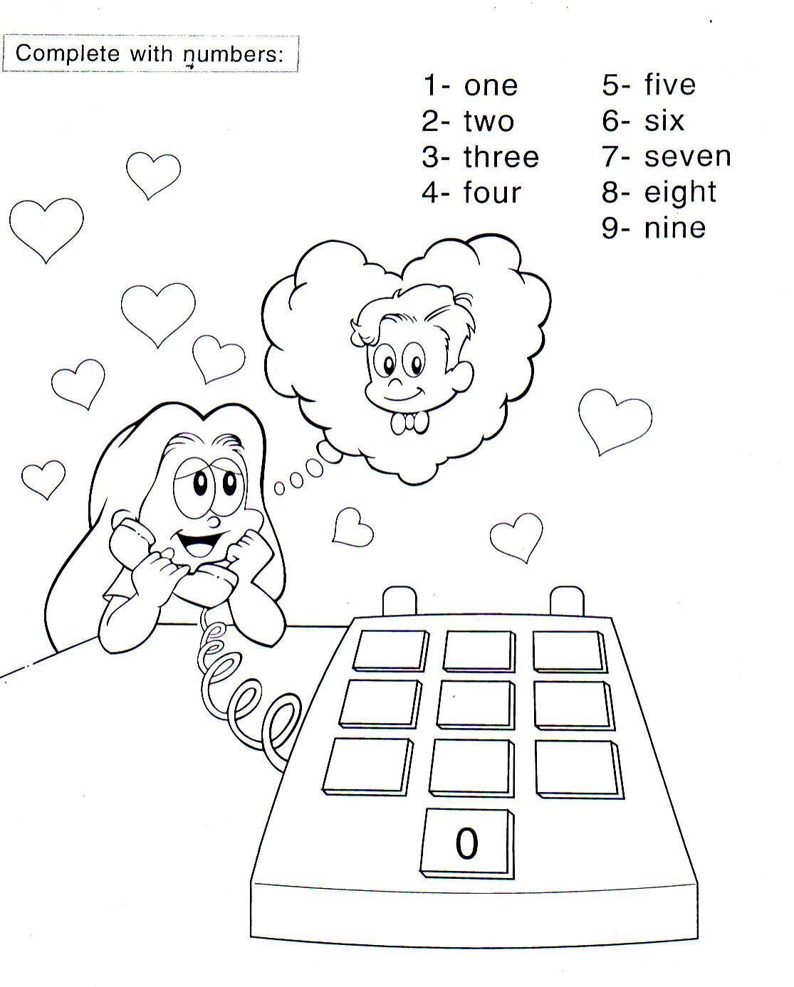 berühmt numero 10 para colorir aprender ein escrever numeros galerie