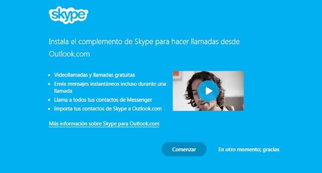 Skype se fusiona con Outlook