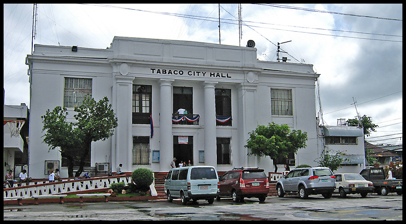 Tabaco Philippines  city photo : Watchful Eyes Of A Silhouette: PHILIPPINES' Most Beautiful City Halls ...