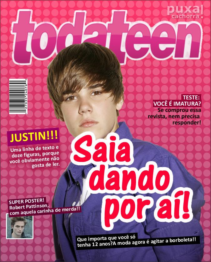 Revistas com capas realistas Todateen_sincera