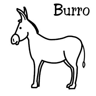 Dibujos de Burros