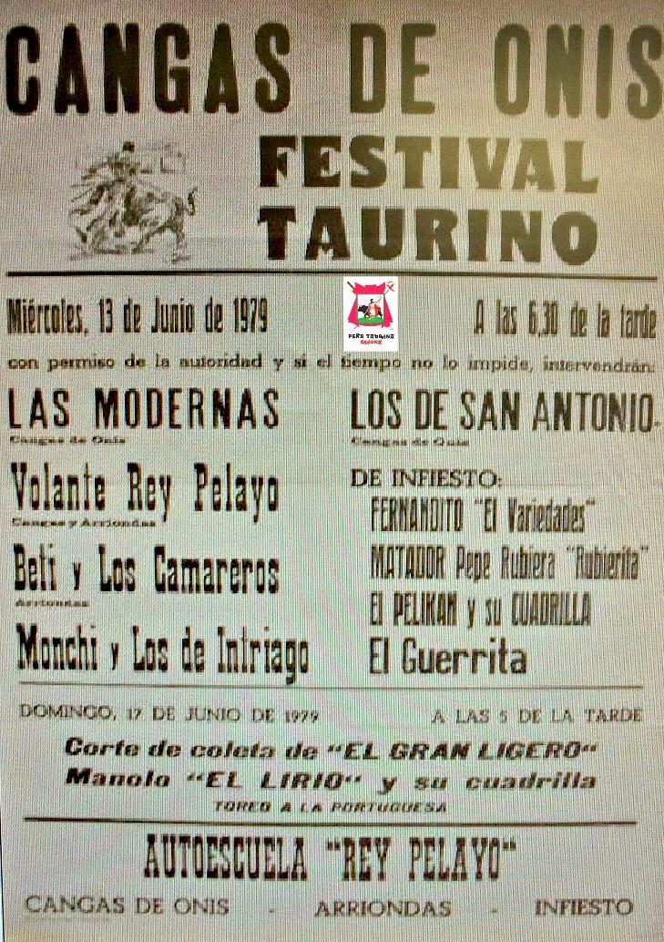 cangas de onis festival taurino