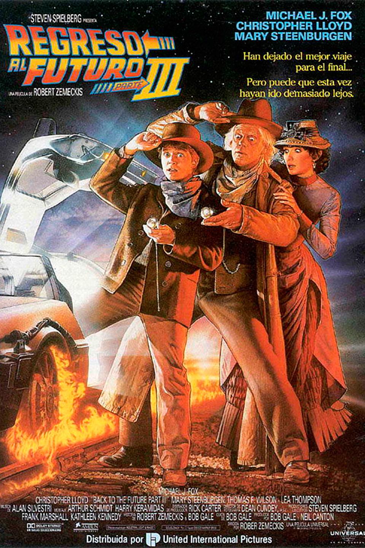 Volver al futuro III poster box cover
