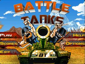 Battle Tanks Game for Blackberry