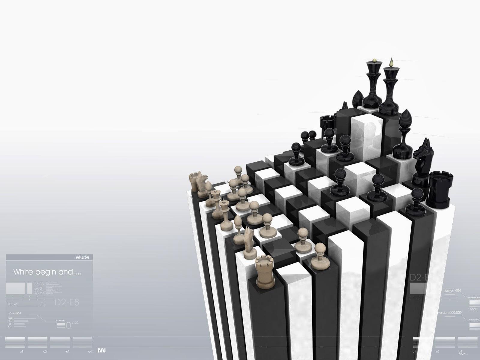 3D Chess Wallpapers Wallpaper Gallery