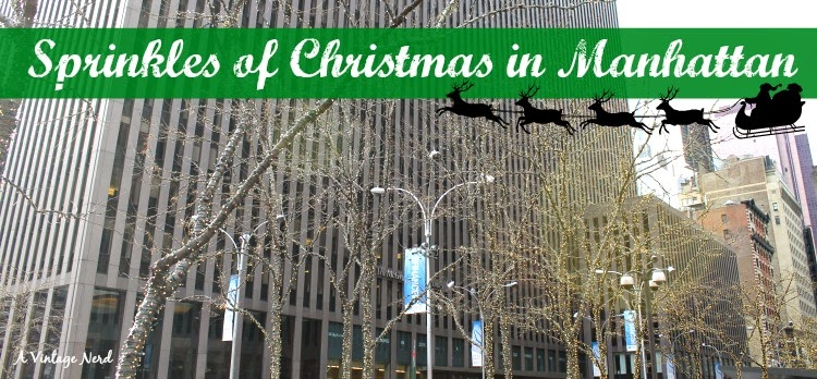 A Vintage Nerd, Vintage Blog, NY Vintage Train, NY Christmas Activities, New York in Christmas, Vintage Christmas