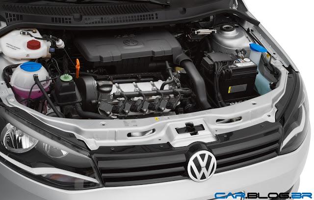Novo Gol G6 2013 - Motor 1.0L TEC