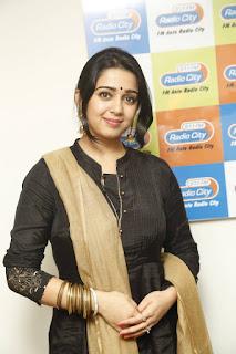 Actress Charmi Kaur Latest Pictures in Salwar Kameez at Radio City   (6)