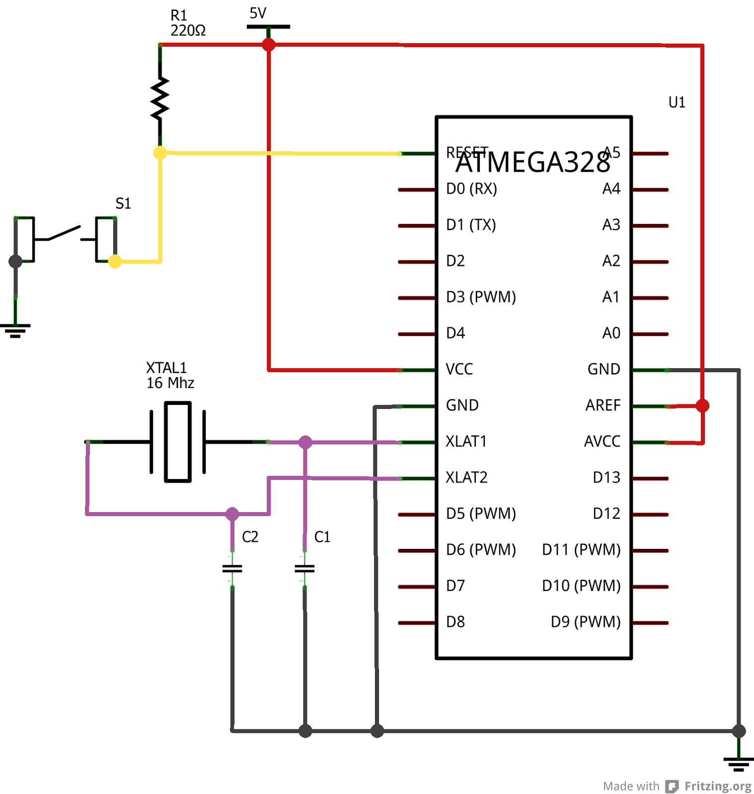 Arduino на mega8 своими руками