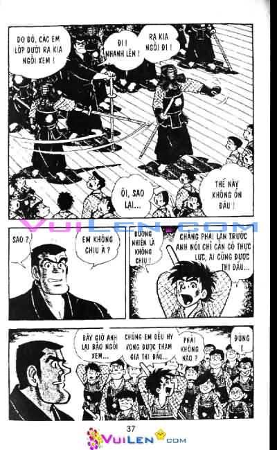 Siêu quậy Teppi chap 6 - Trang 37