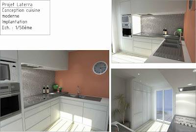 Etude et conception 3d cuisine for Conception 3d cuisine