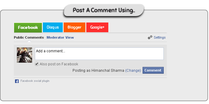How To Add A Multiple Commenting System To Blogger For Increasing Your Blog's SEO