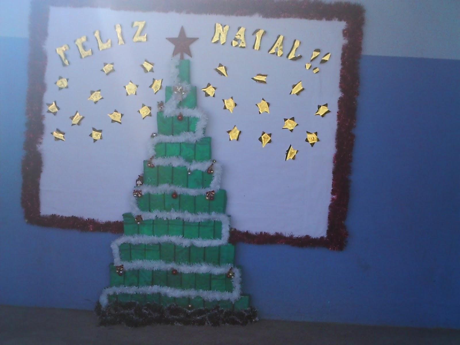 Educa o infantil atividades e experi ncias em sala de for Mural de natal 4 ano