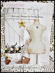 Featured in Creating Vintage Charm Magazine, Winter 2012 Issue