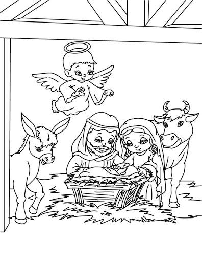 dibujos y plantillas para imprimir belenes On belenes de navidad para dibujar