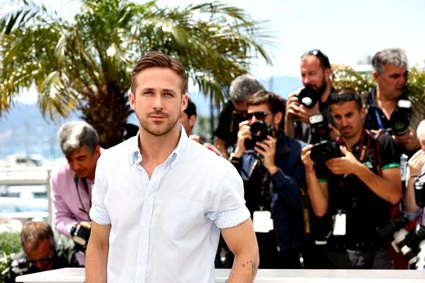 Ryan Gosling en la presentación de Lost River