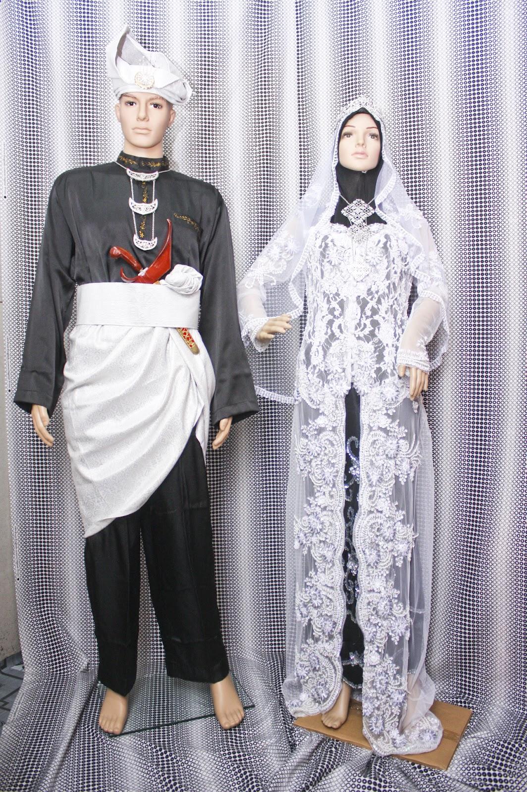 Sewa Pakaian Atau Busana Atau Baju Pengantin Songket Dan