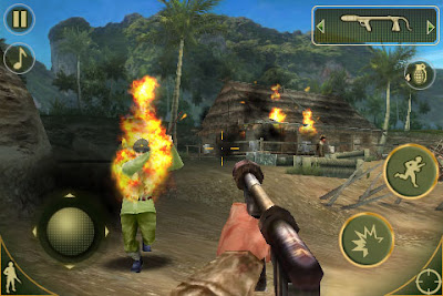 Brothers in Arms 2 HD 3D apk+data: Android Latest HD games download