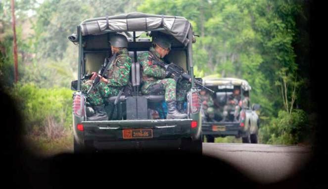 Polisi Tangkap 4 Anggota Kelompok Bersenjata di Aceh