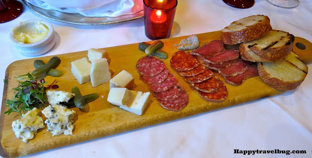 Charcuterie appetizer at Prime 44 West