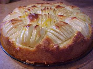 Gâteau de pommes aux agrumes