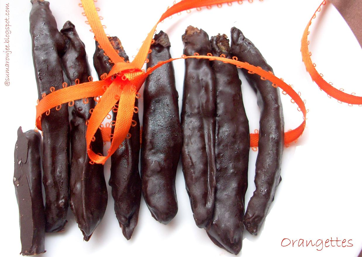 Orangettes (Candied Orange Peels) Recipes — Dishmaps