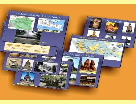posisi dan wilayah kekuasaan serta pengaruh kerajaan Majapahit di