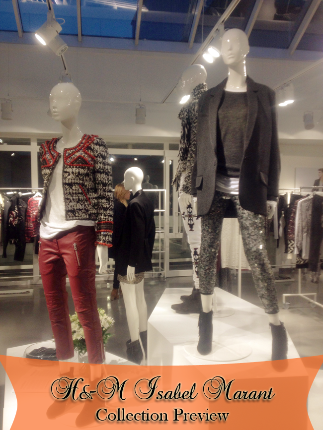 H&M Isabel Marant Collection Preview