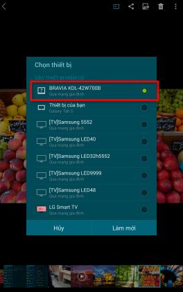 Cách kết nối điện thoại, máy tính bảng với Smart tivi 7