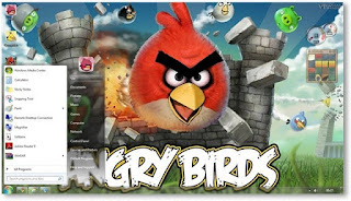 Download Tema Windows 7 - Angry Bird Free Download