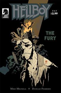Hellboy: The Fury #3 - 365 Days of Comics