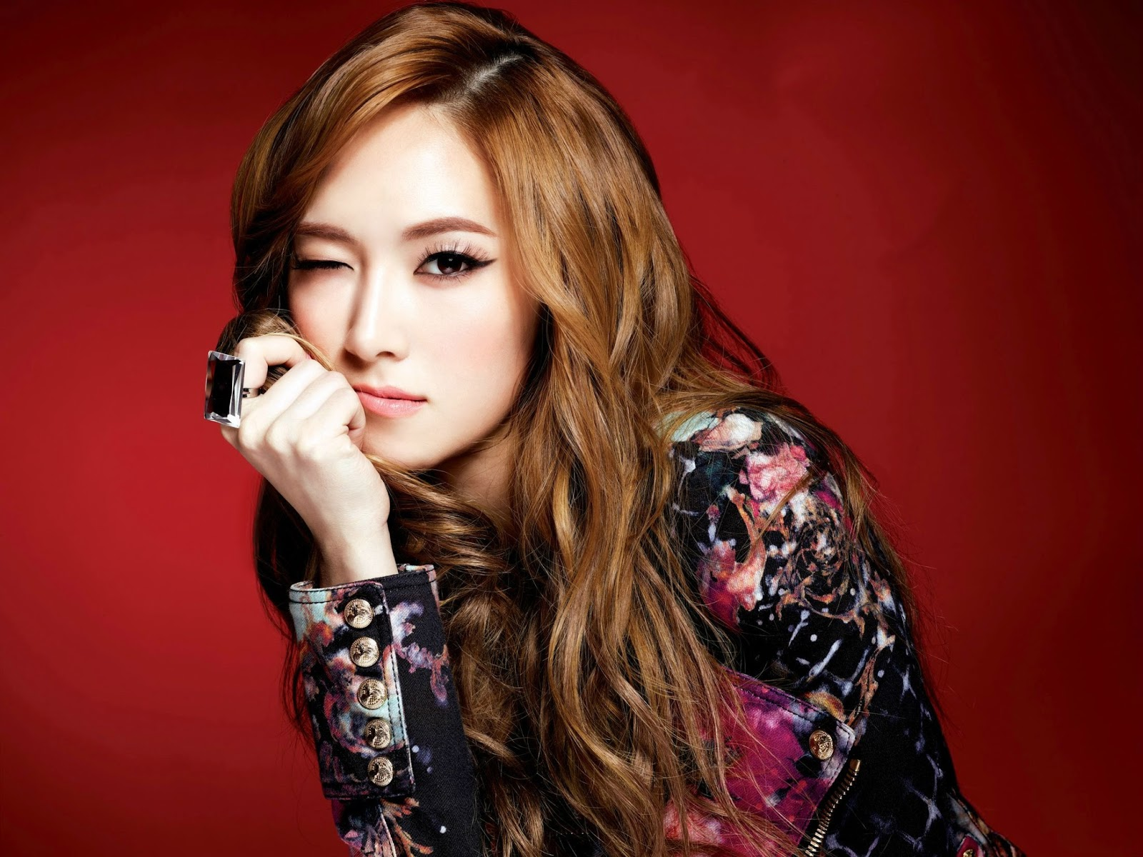 SNSD Jessica Jung Sexy Wallpaper