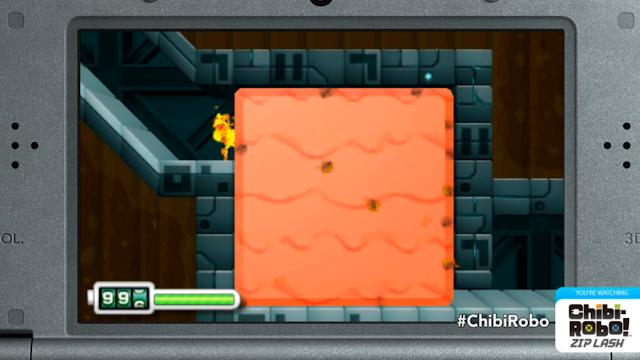 Chibi Robo Zip Lash fire puzzle Nintendo 3DS