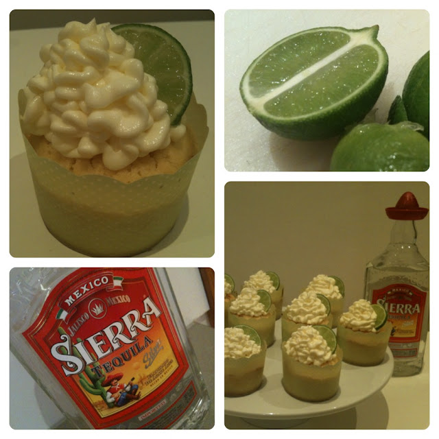 ONE TEQUILA.. TEQUILA CUPCAKES >> STARTS WITH CUPCAKES