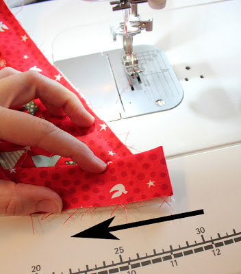 Binding Tutorial for Christmas Tree Skirt Pattern