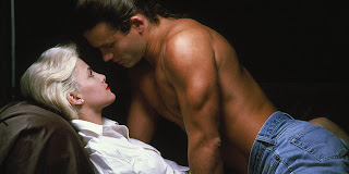 Sherilyn Fenn and Richard Tyson Two Moon Junction 1988 movieloversreviews.blogspot.com